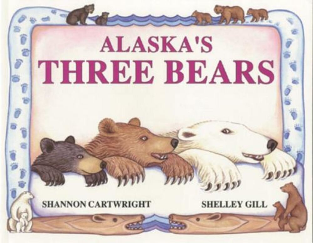 Alaska's Three Bears, Paperback