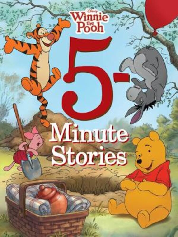 5-Minute Winnie the Pooh Stories, Hardcover