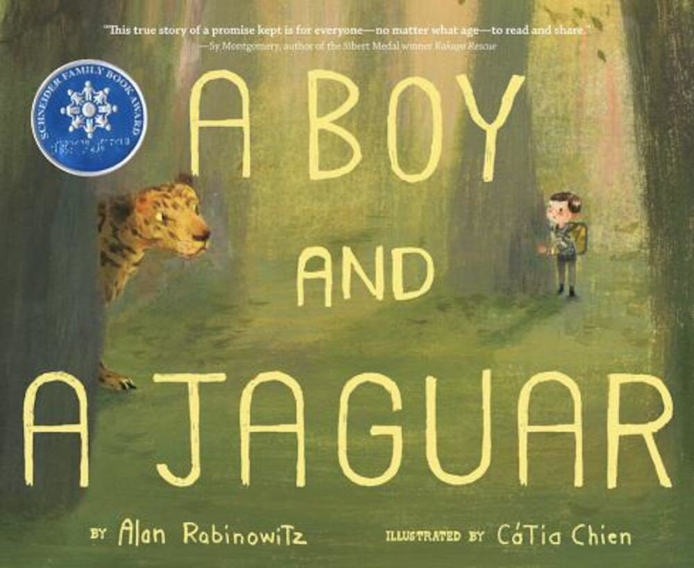 A Boy and a Jaguar, Hardcover