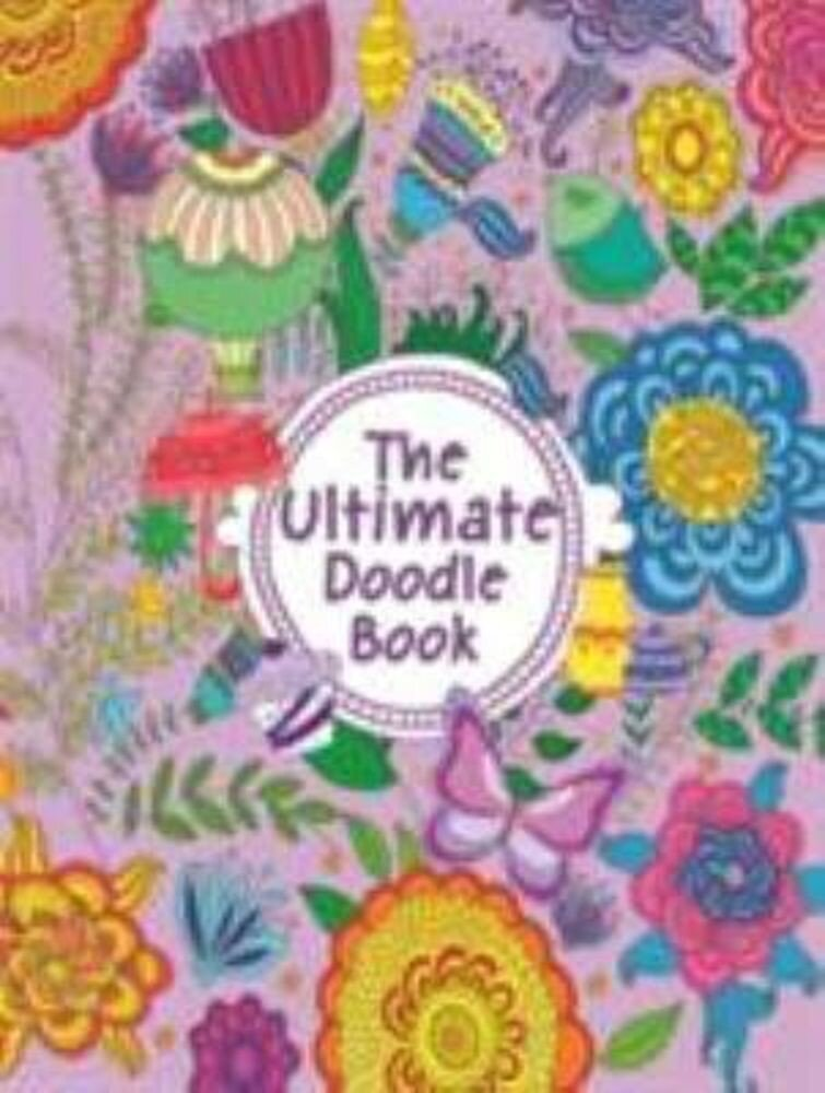 Doodle Book - Ultimate: Doodle & Colouring Book