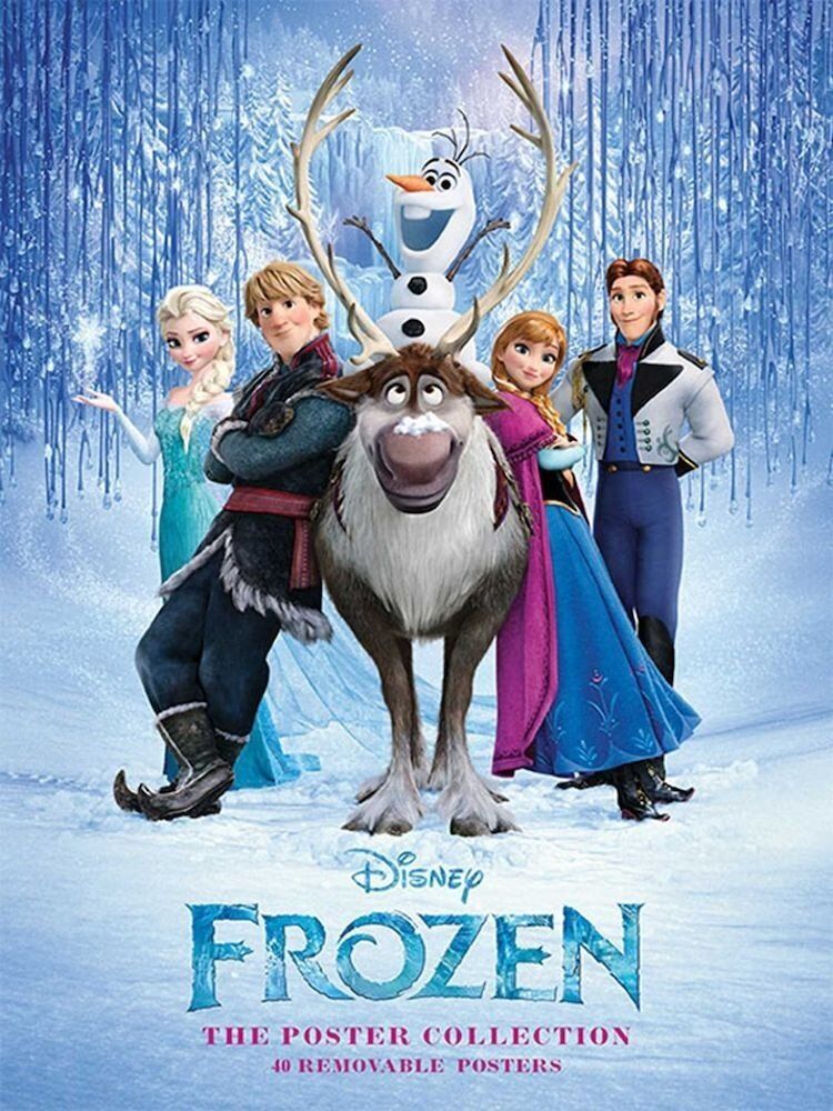 Frozen: The Poster Collection: 40 Removable Posters (Insights Poster Collections)