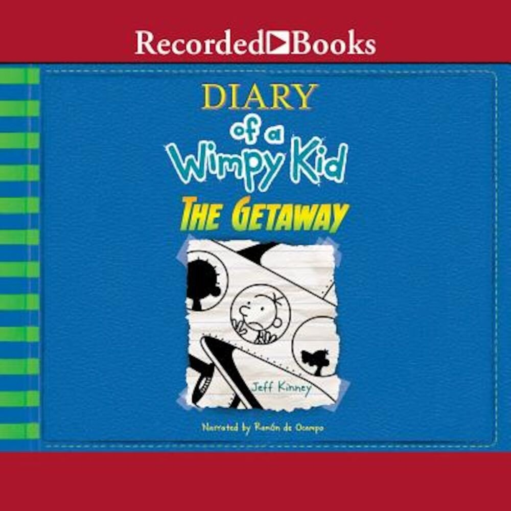 Diary of a Wimpy Kid: The Getaway, Audiobook