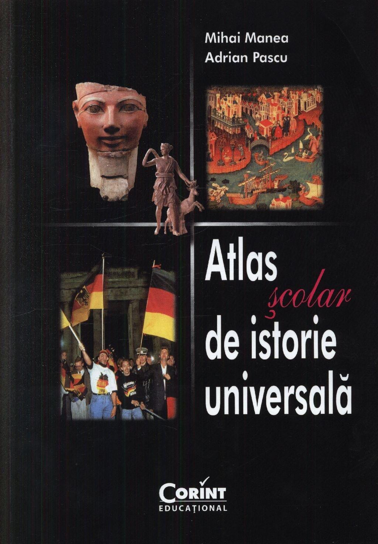 Coperta Carte Atlas scolar de istorie universala