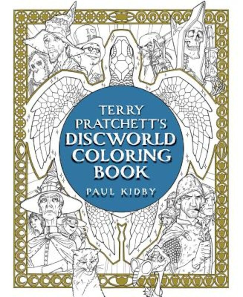 Terry Pratchett's Discworld Coloring Book, Paperback
