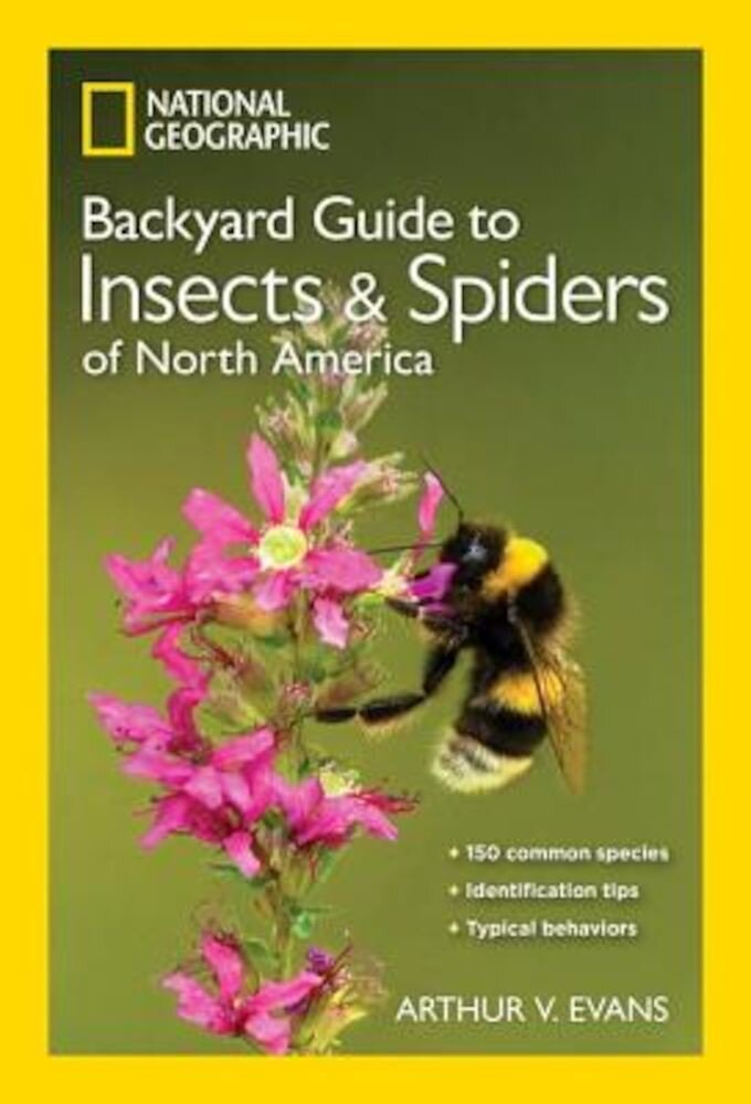 National Geographic Backyard Guide to Insects and Spiders of North America, Paperback