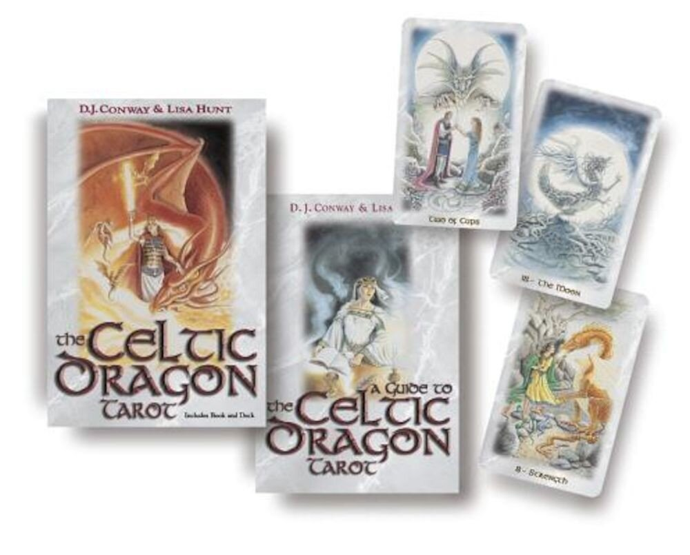 The Celtic Dragon Tarot Kit [With Tarot Cards], Paperback