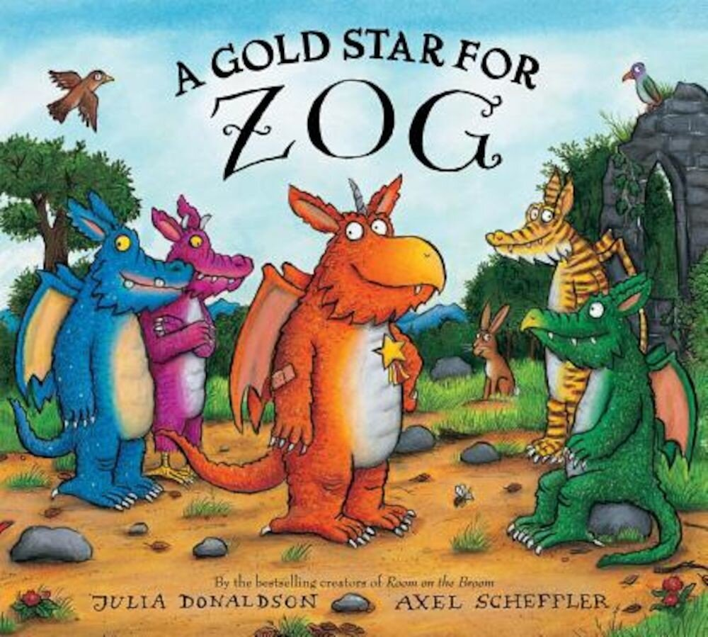 A Gold Star for Zog, Hardcover