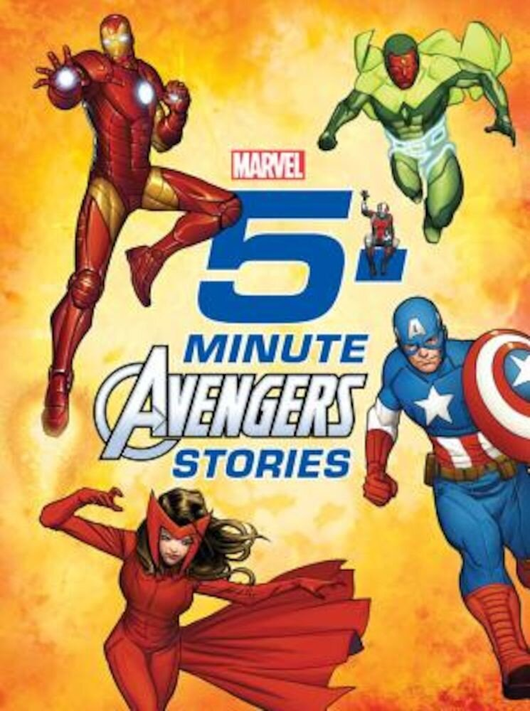 5-Minute Avengers Stories, Hardcover