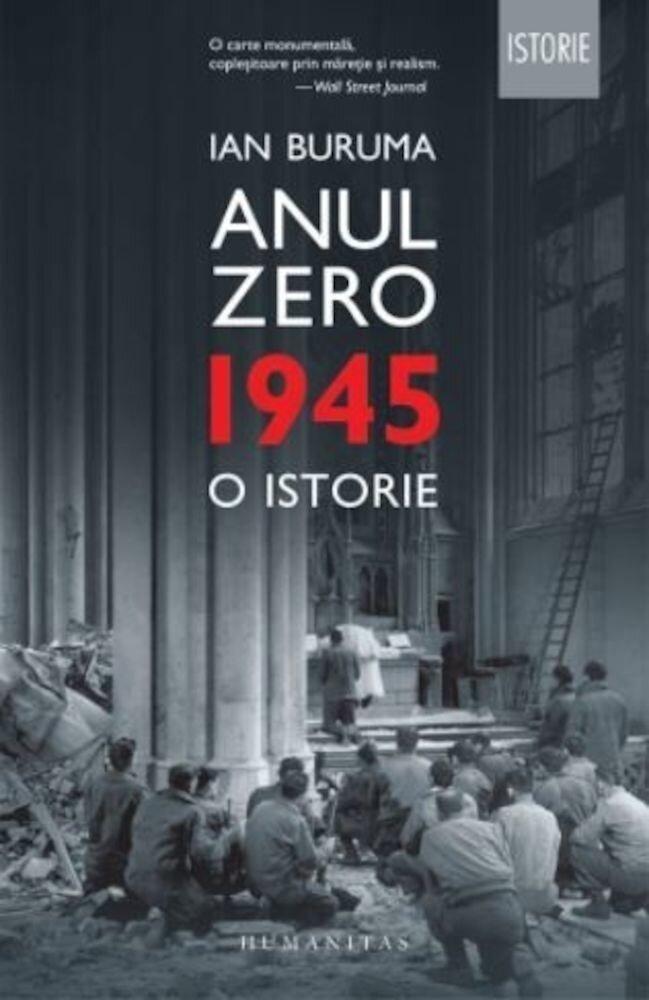 Coperta Carte Anul Zero. 1945, o istorie