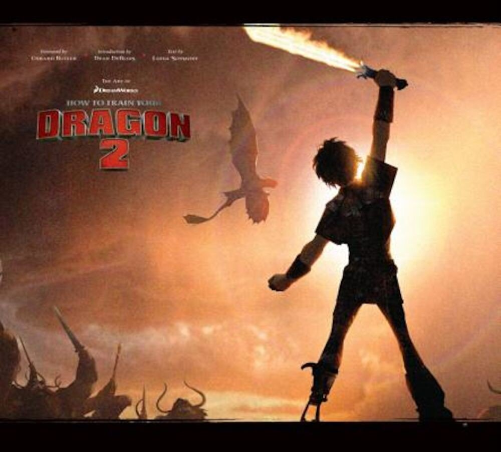 The Art of How to Train Your Dragon 2, Hardcover