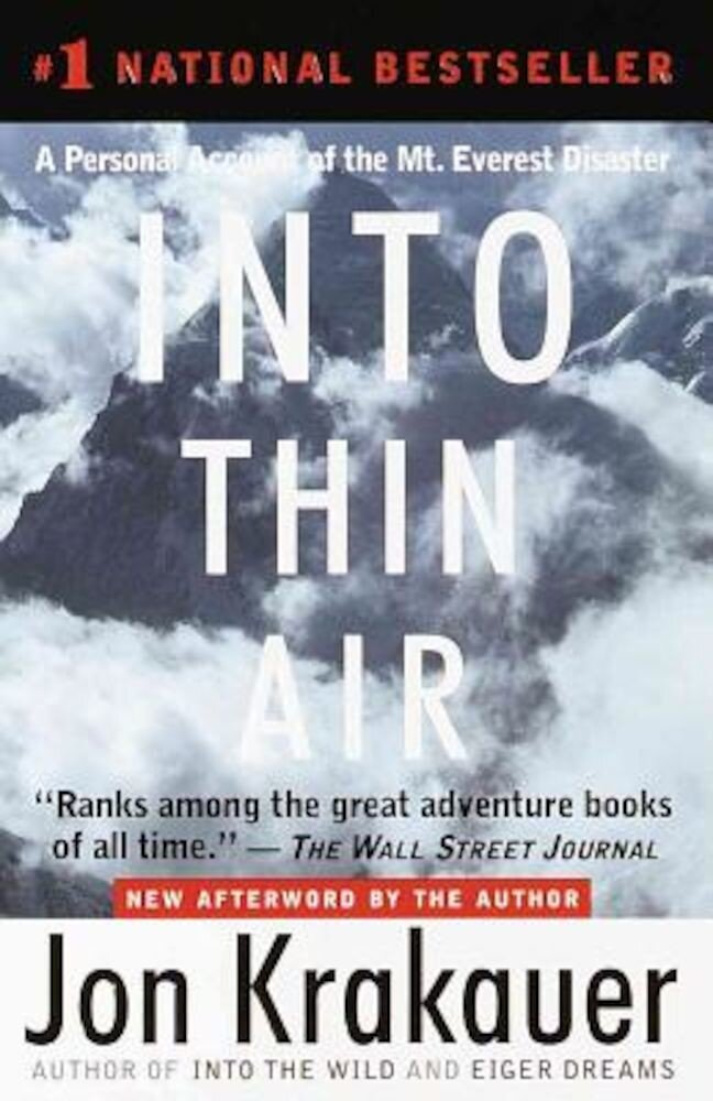 Into Thin Air, Hardcover