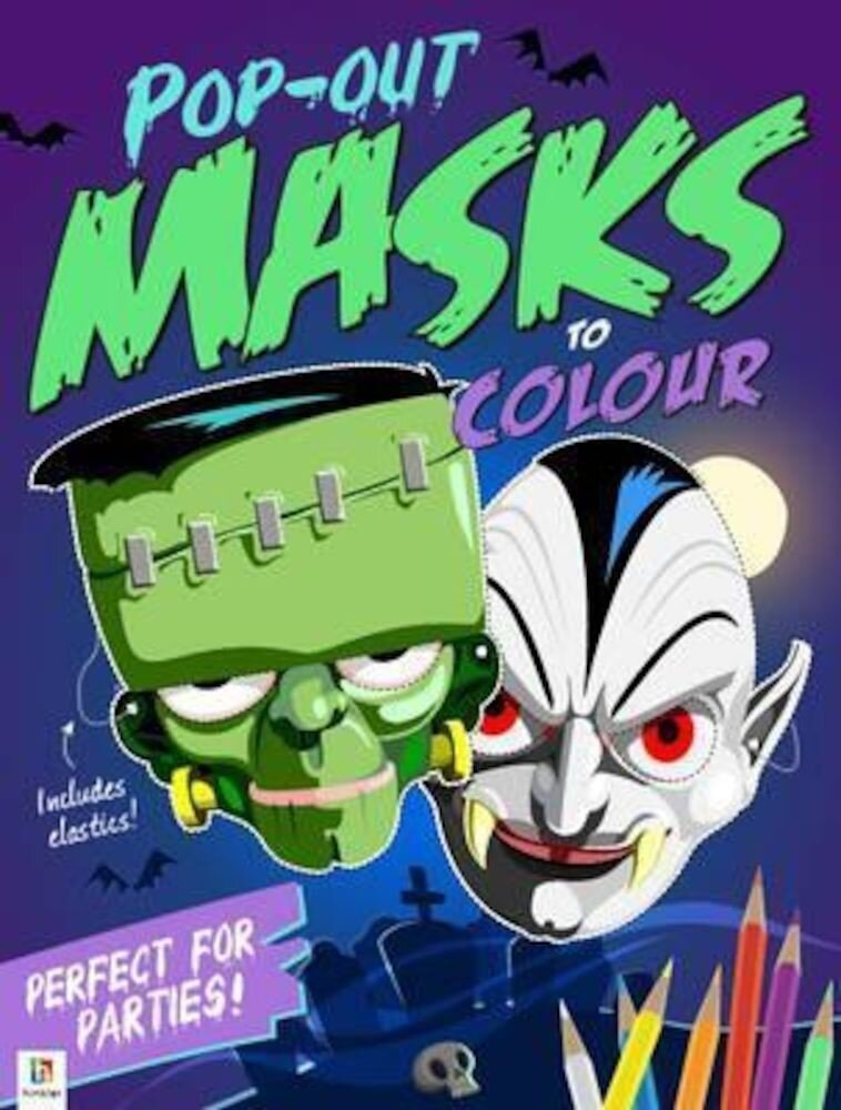 Pop-Out Masks To Colour (Colour Mask Books)