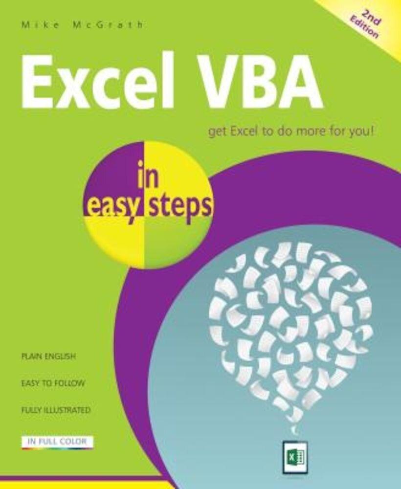 Excel VBA in Easy Steps, Paperback