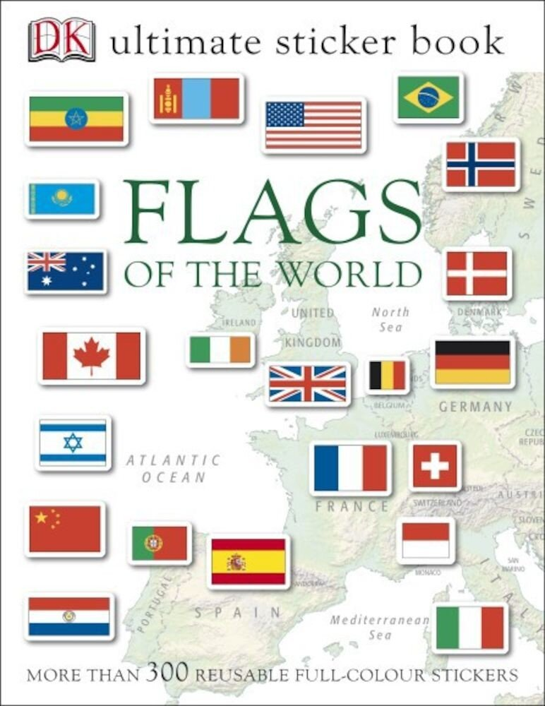 Ultimate Sticker Book - Flags of the World