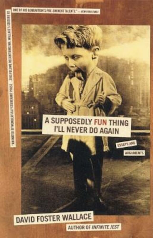 A Supposedly Fun Thing I'll Never Do Again: Essays and Arguments, Paperback