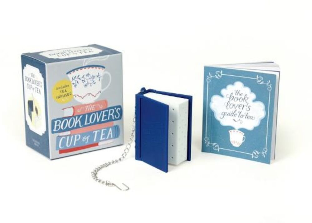 The Book Lover's Cup of Tea: Includes Tea Infuser, Paperback