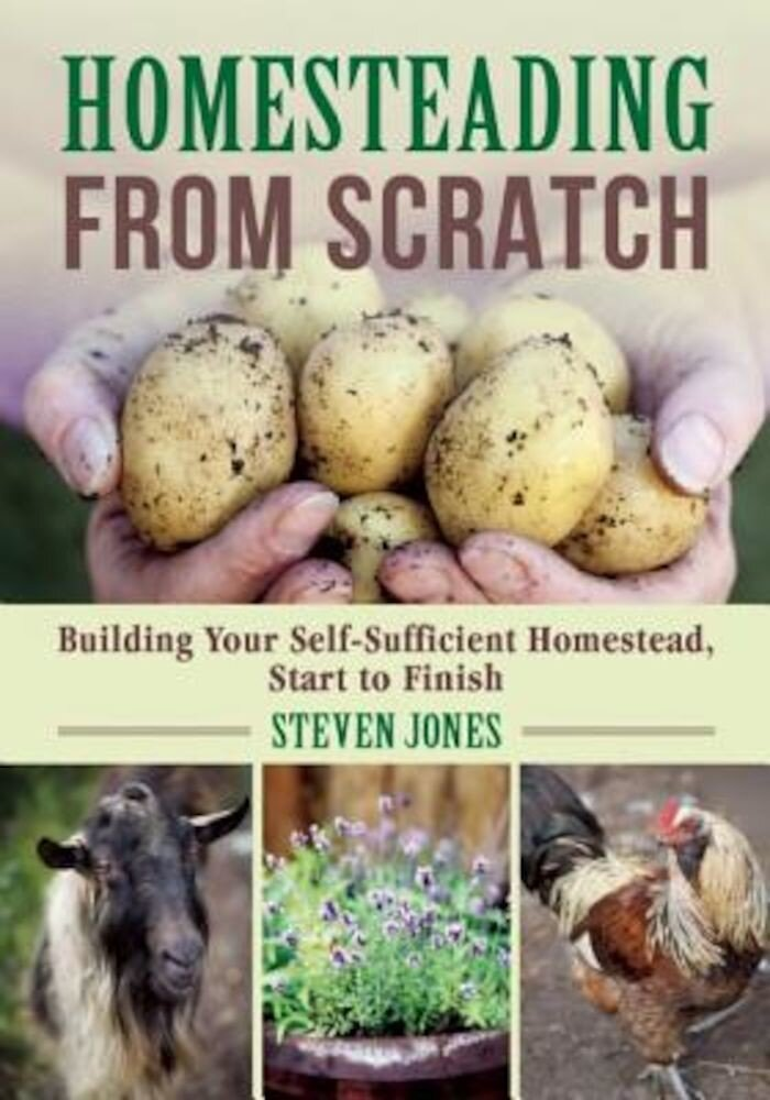 Homesteading from Scratch: Building Your Self-Sufficient Homestead, Start to Finish, Paperback
