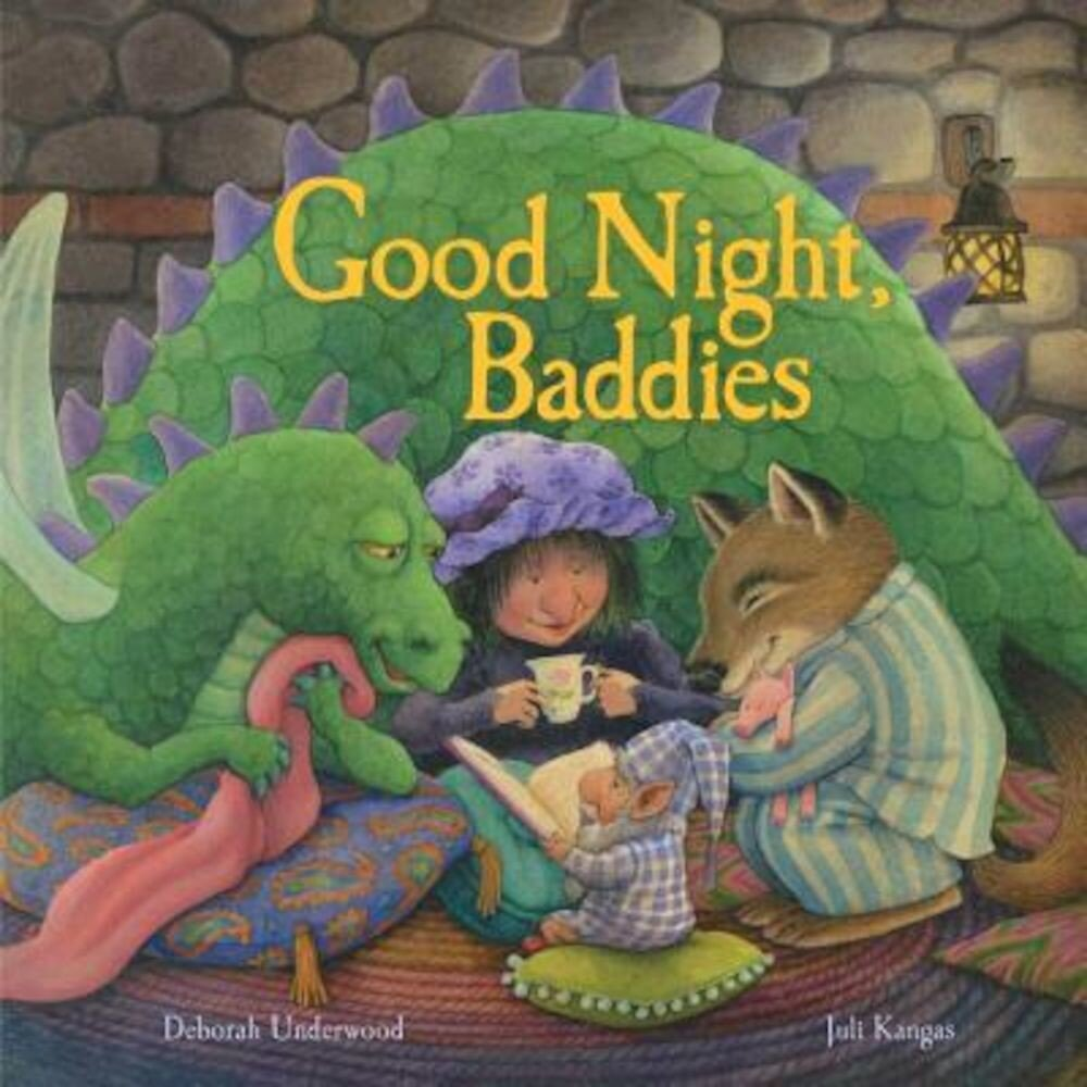 Good Night, Baddies, Hardcover