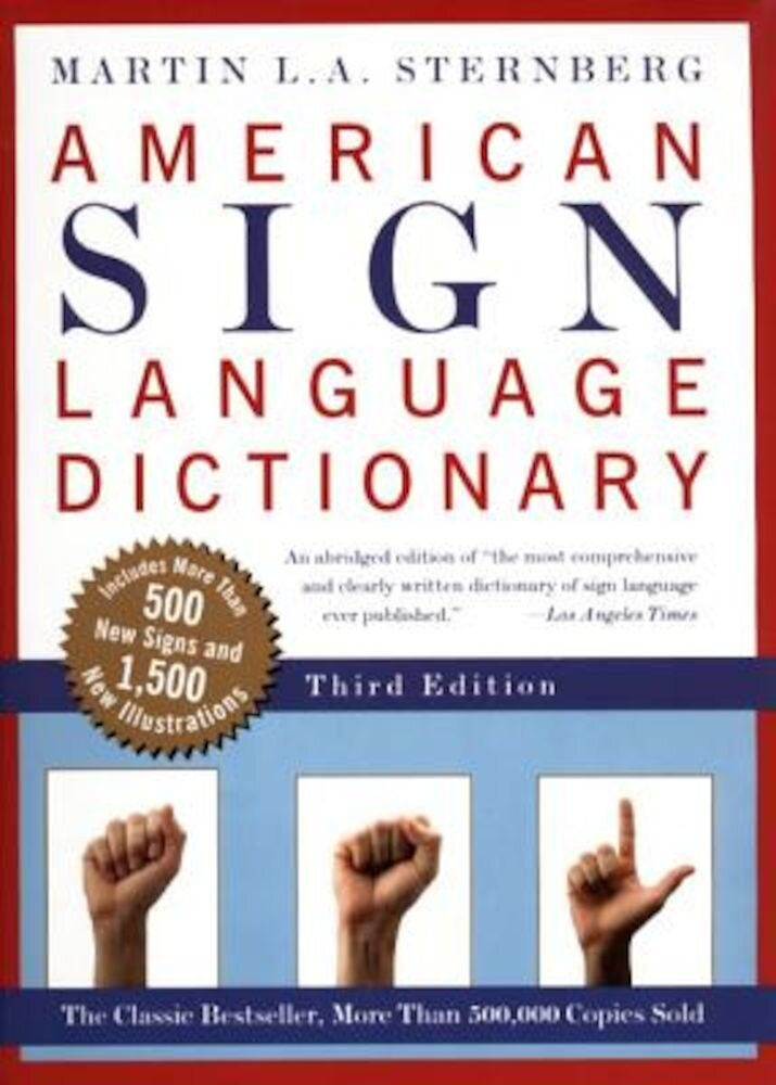 American Sign Language Dictionary-Flexi, Paperback