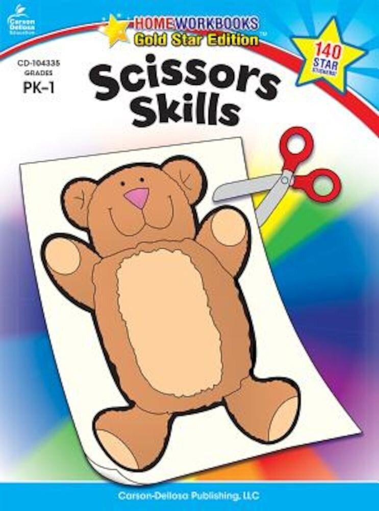 Scissors Skills Grades PK-1, Paperback
