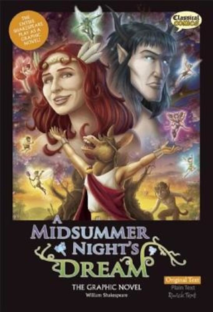 A Midsummer Night's Dream the Graphic Novel: Original Text, Paperback