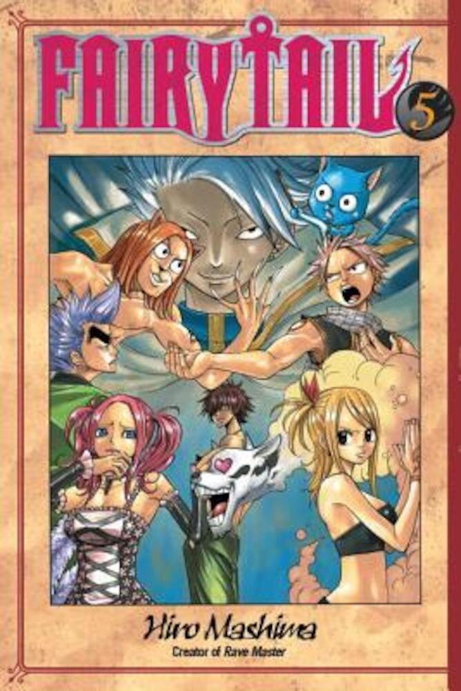 Fairy Tail V05, Paperback