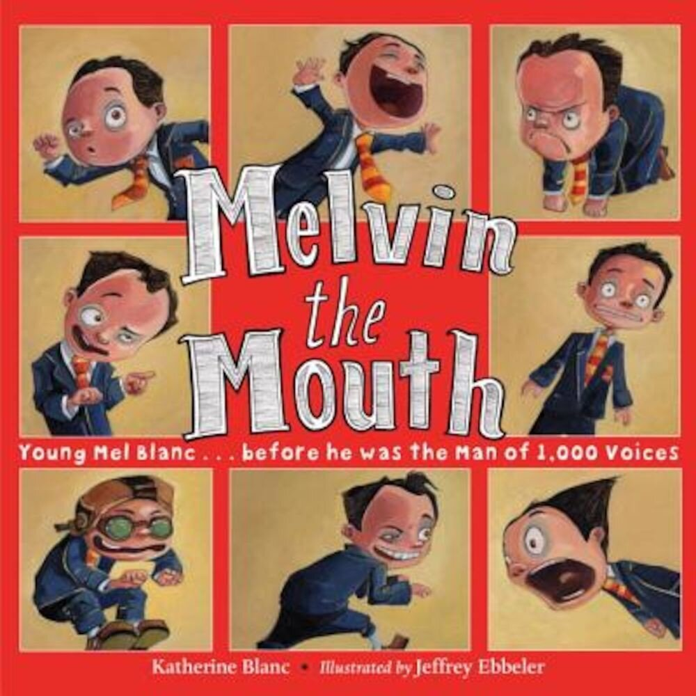 Melvin the Mouth, Hardcover