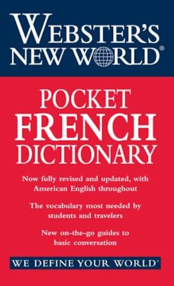 Webster's New World Pocket French Dictionary, Paperback