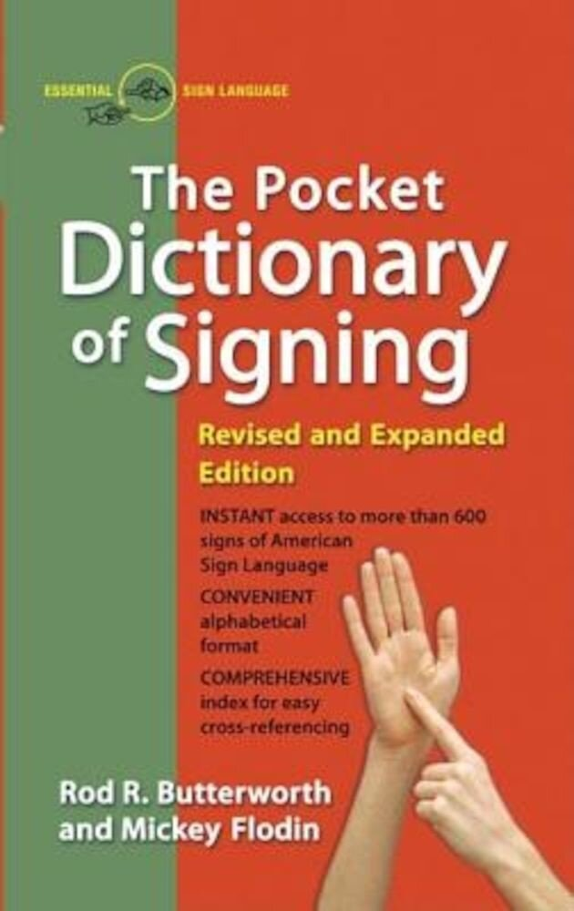 The Pocket Dictionary of Signing, Paperback