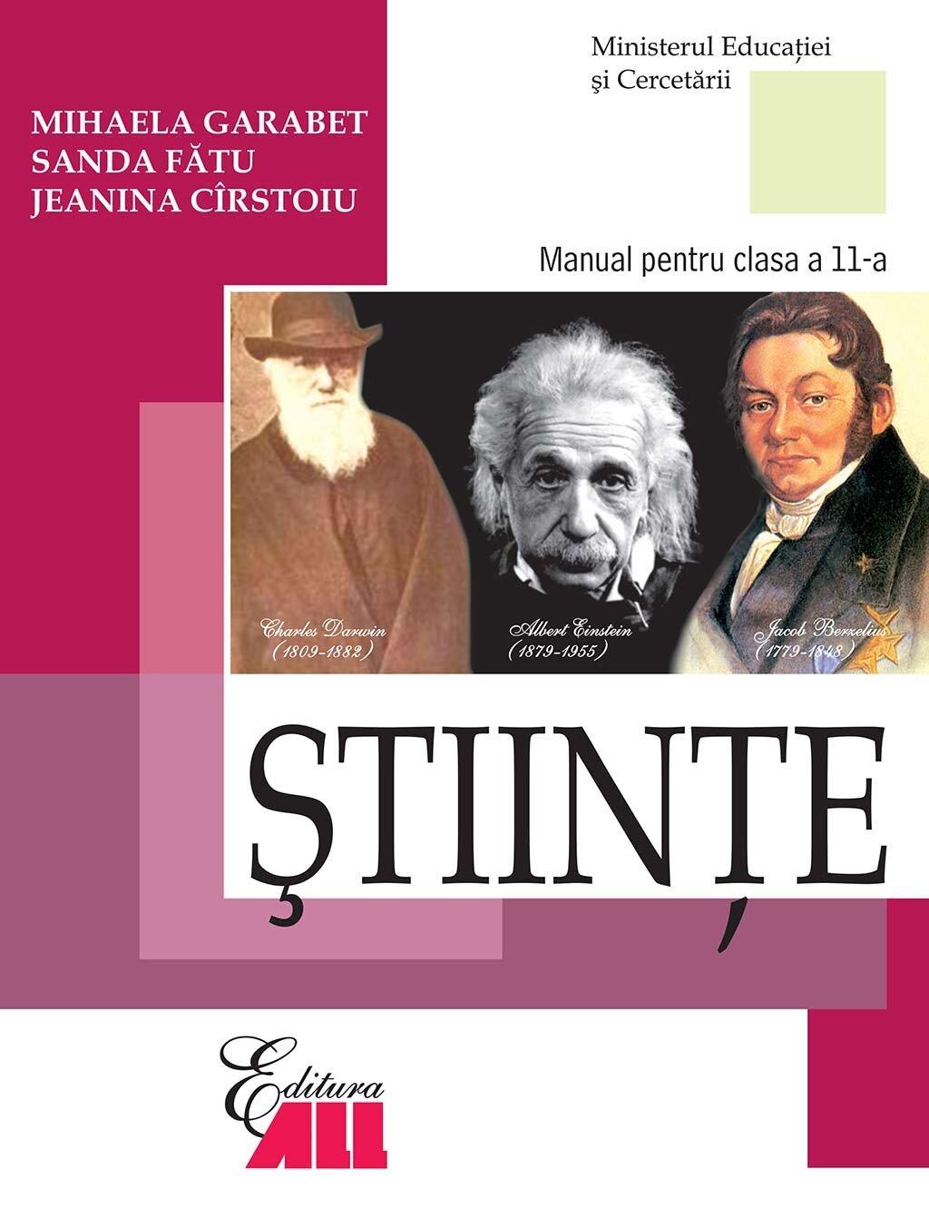 Stiinte. Manual pentru clasa a 11-a (eBook)