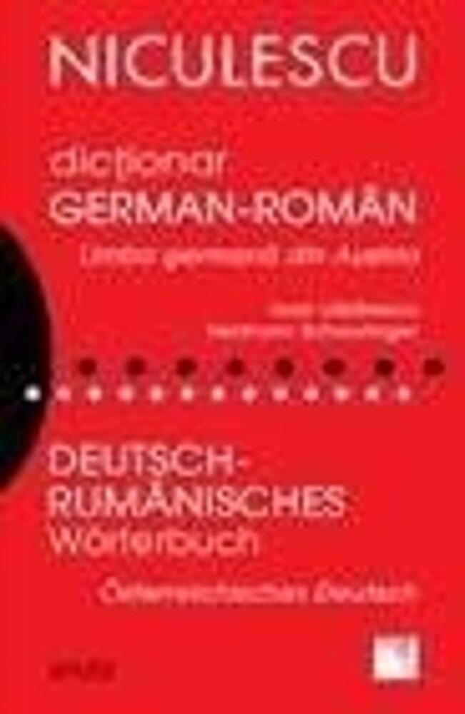 Dictionar german-roman. Limba germana din Austria