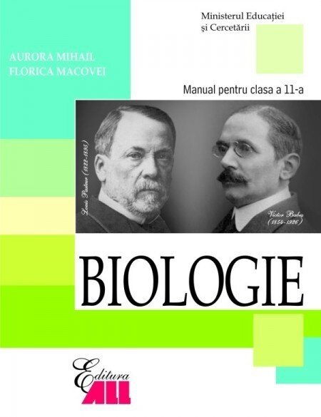 Coperta Carte Biologie. Manual pentru clasa a XI-a