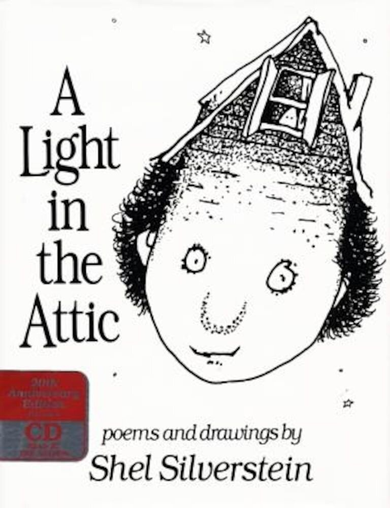 A Light in the Attic Book and CD [With CD], Hardcover