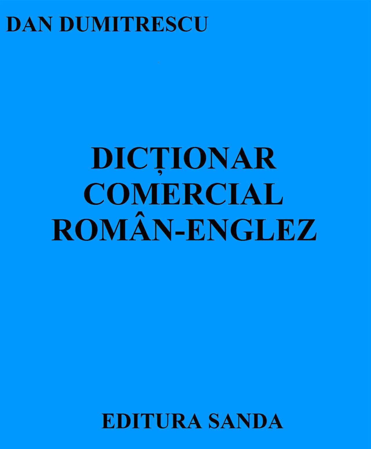 Dictionar comercial Roman-Englez (eBook)