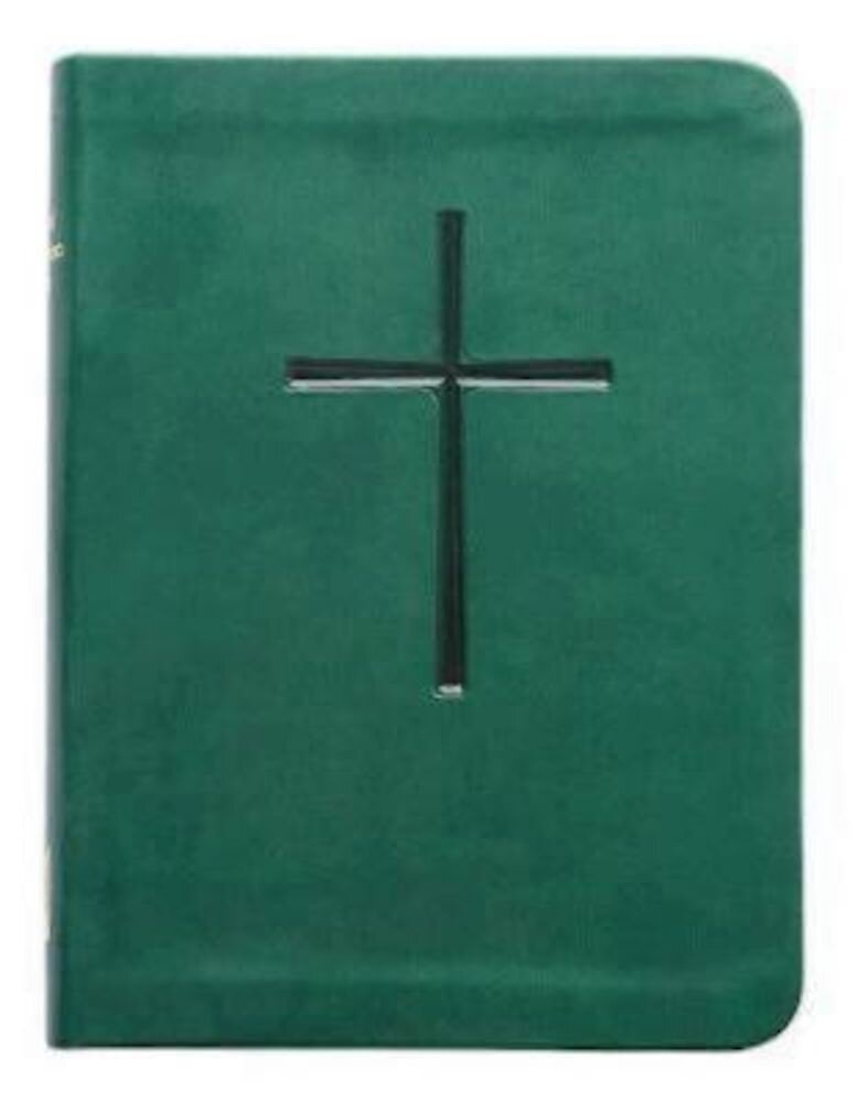 1979 Book of Common Prayer: Green Vivella, Hardcover