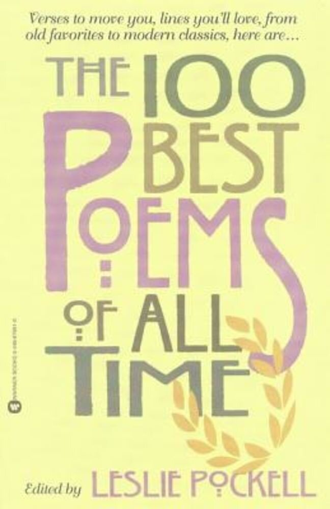The 100 Best Poems of All Time, Paperback