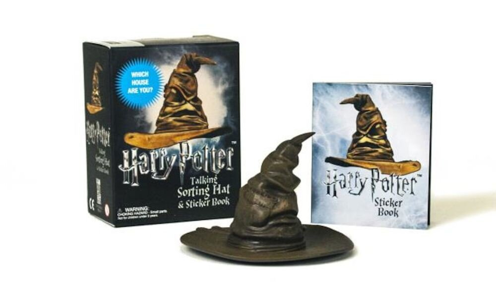 Harry Potter Talking Sorting Hat and Sticker Book: Which House Are You?, Paperback