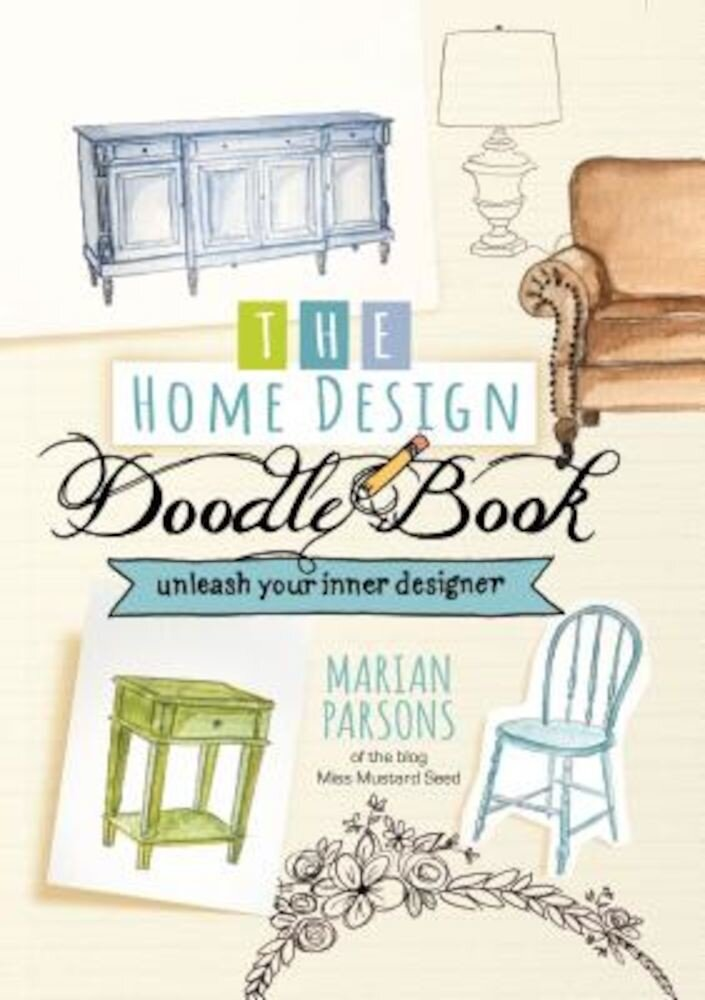 The Home Design Doodle Book, Hardcover