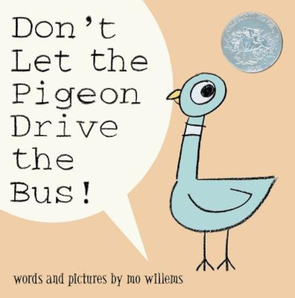 Don't Let the Pigeon Drive the Bus!, Hardcover
