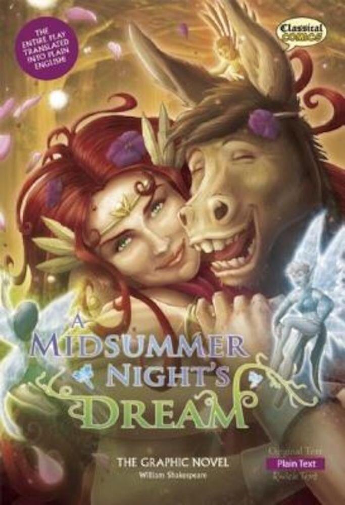 A Midsummer Night's Dream the Graphic Novel: Plain Text, Paperback