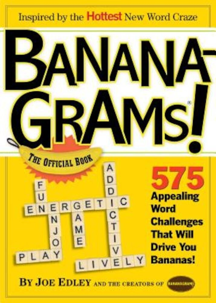 Bananagrams!: The Official Book, Paperback