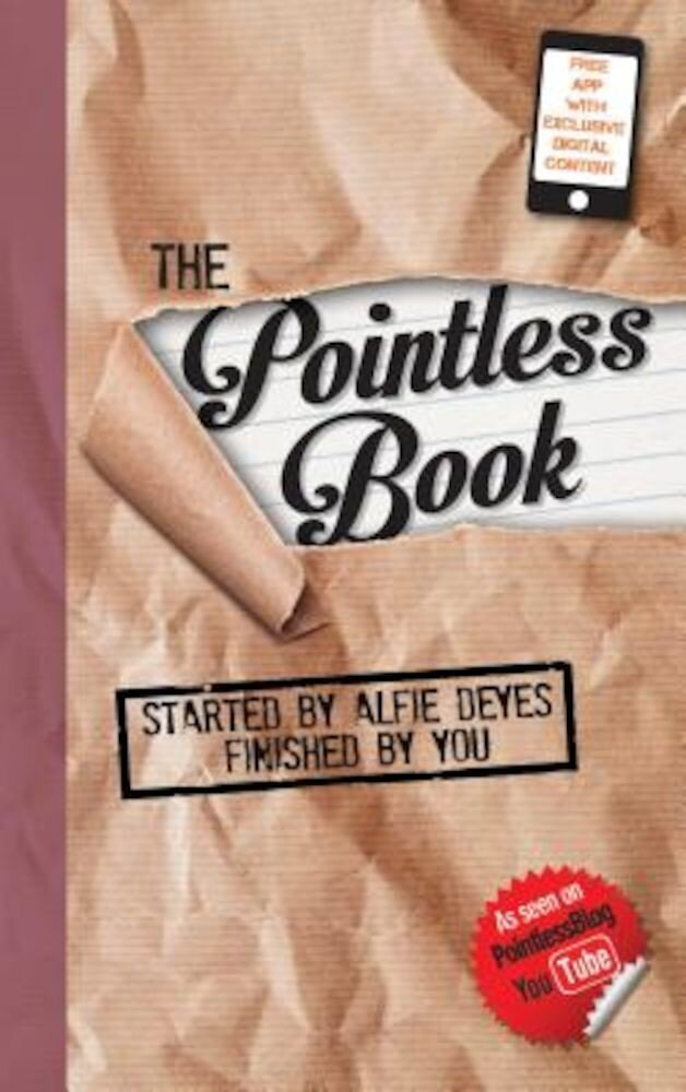 The Pointless Book: Started by Alfie Deyes, Finished by You, Paperback