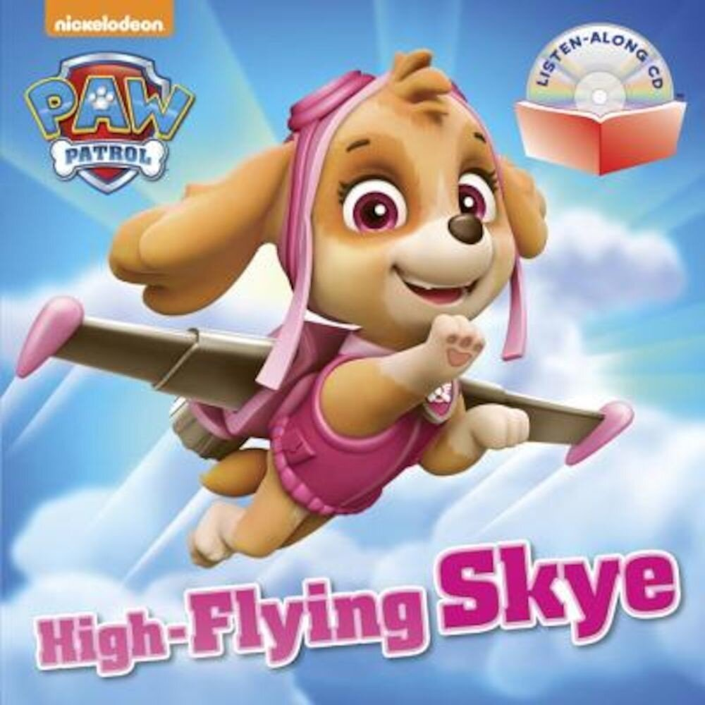 High-Flying Skye [With Audio CD], Paperback