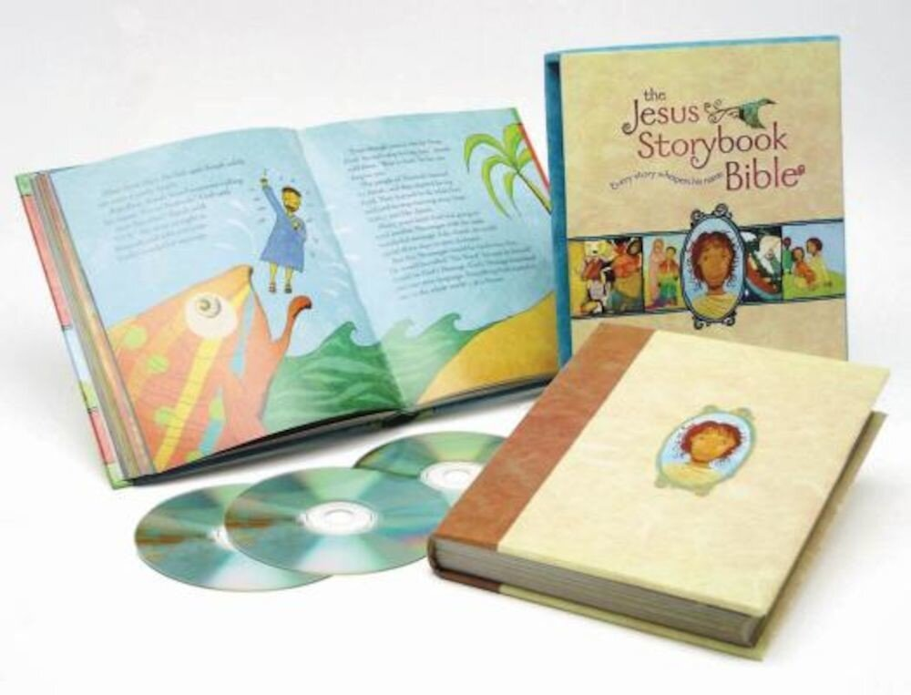 The Jesus Storybook Bible: Every Story Whispers His Name [With Read Along], Hardcover