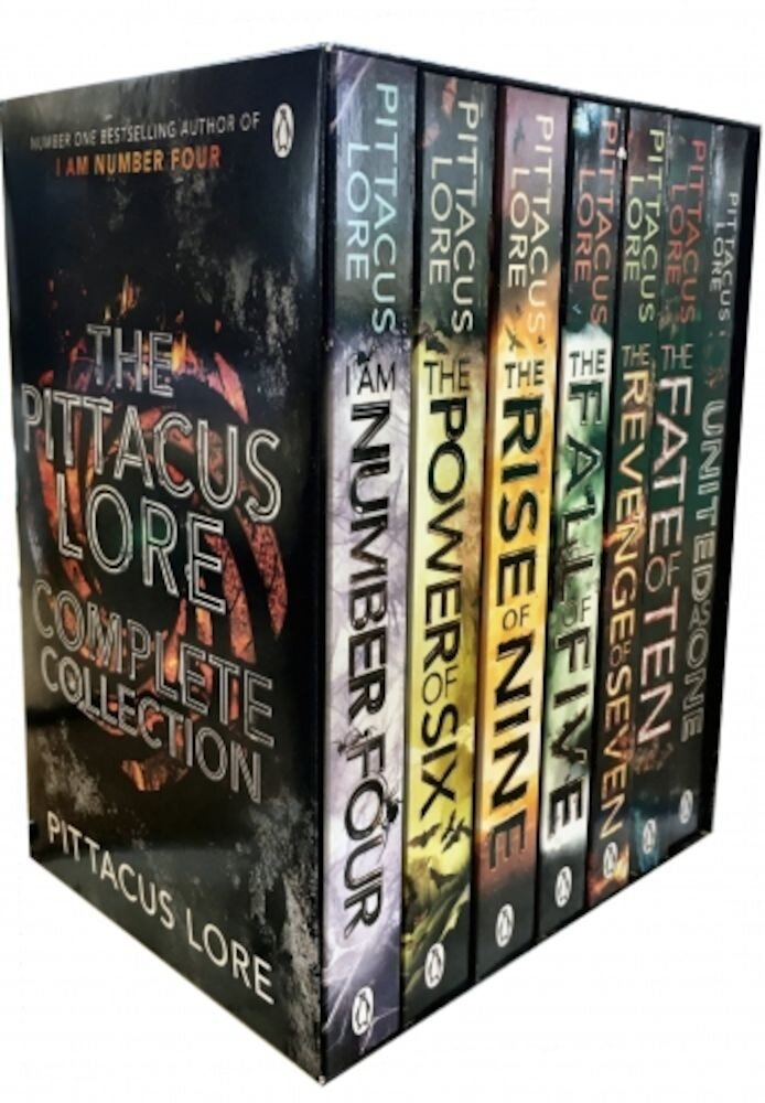 The Pittacus Lore - Complete Book Collection