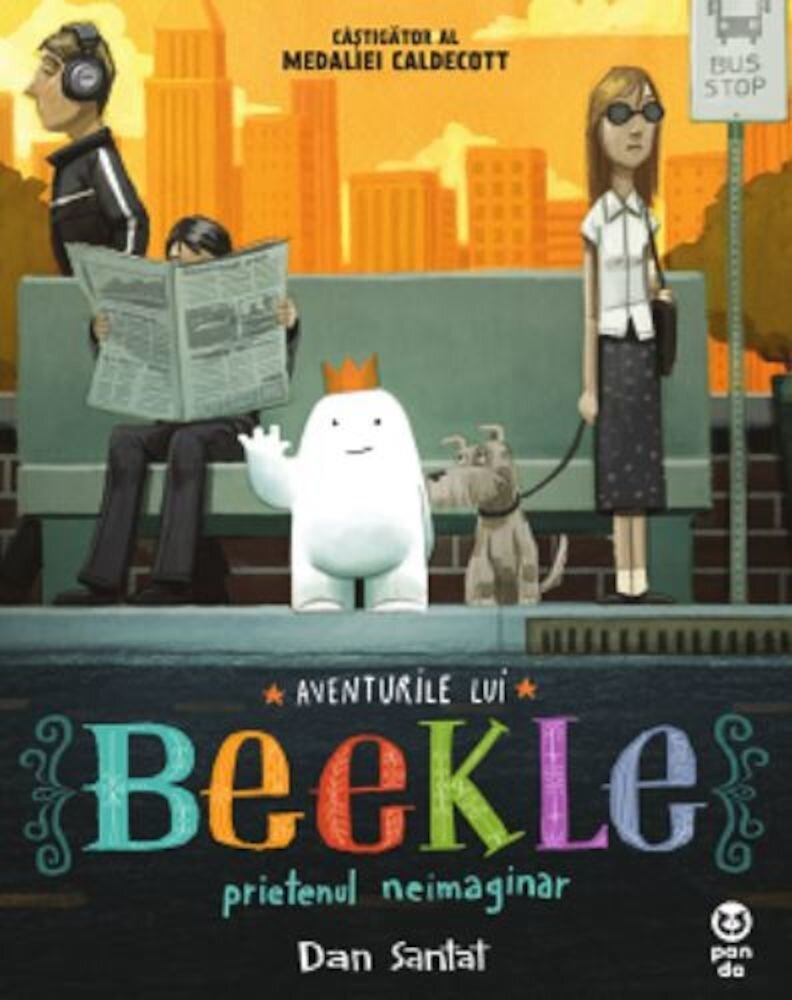 Coperta Carte Aventurile lui Beekle, prietenul neimaginar
