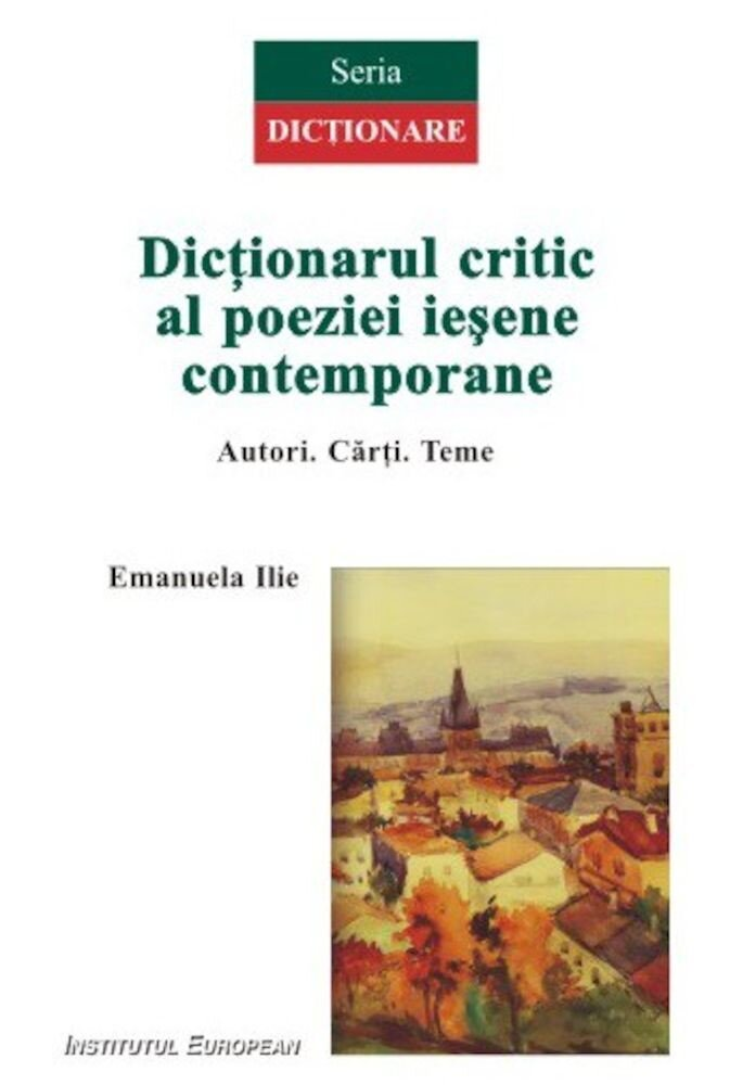 Dictionarul critic al poeziei iesene contemporane