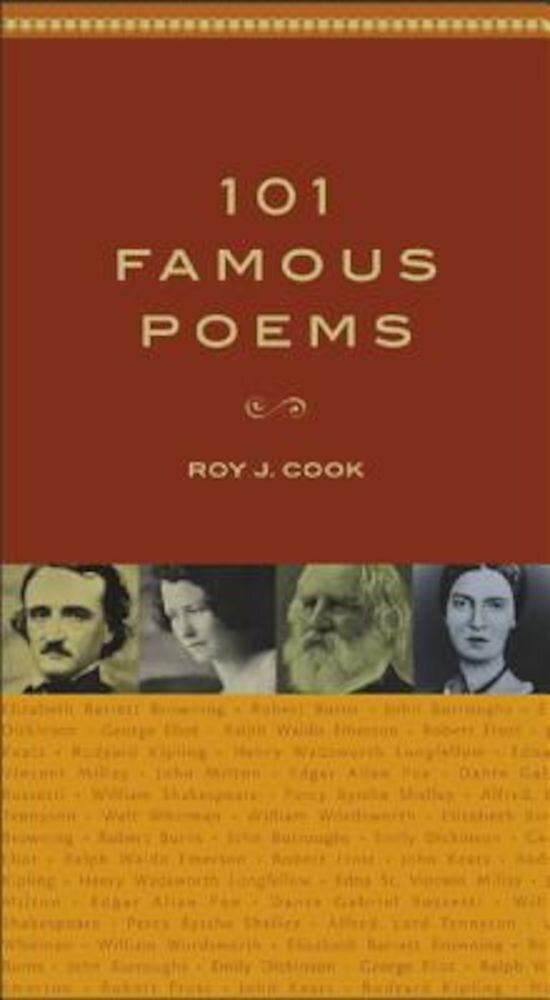 101 Famous Poems, Hardcover