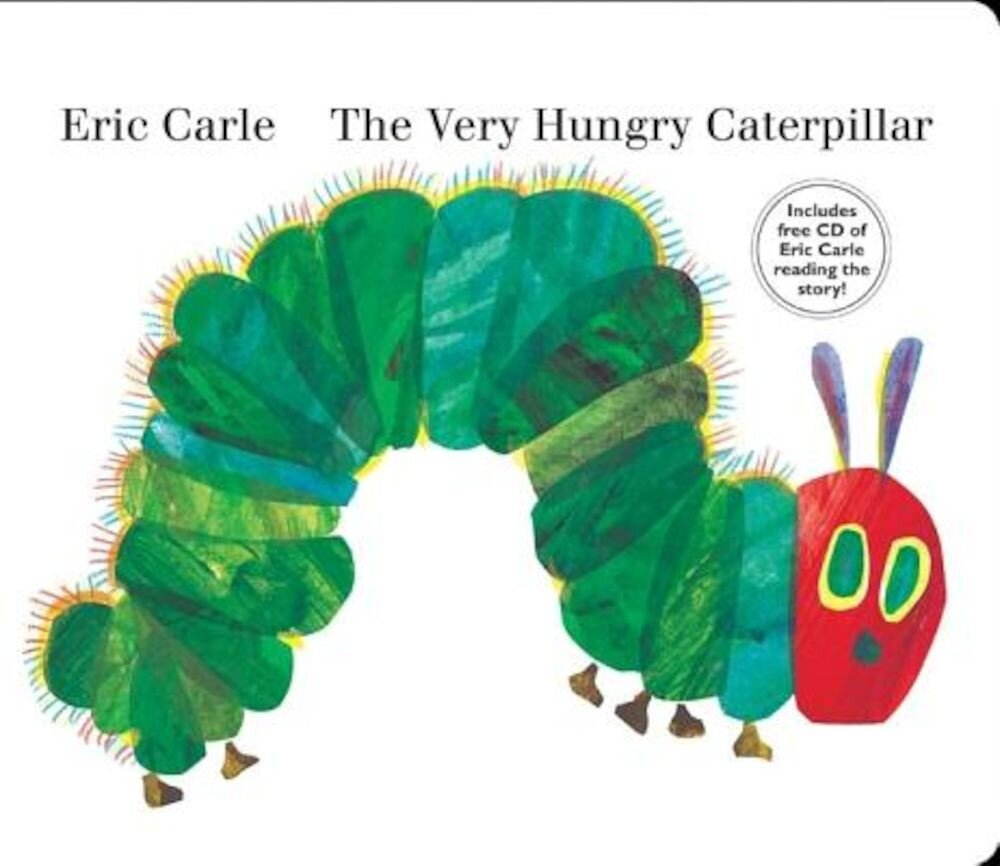 The Very Hungry Caterpillar [With CD (Audio)], Hardcover