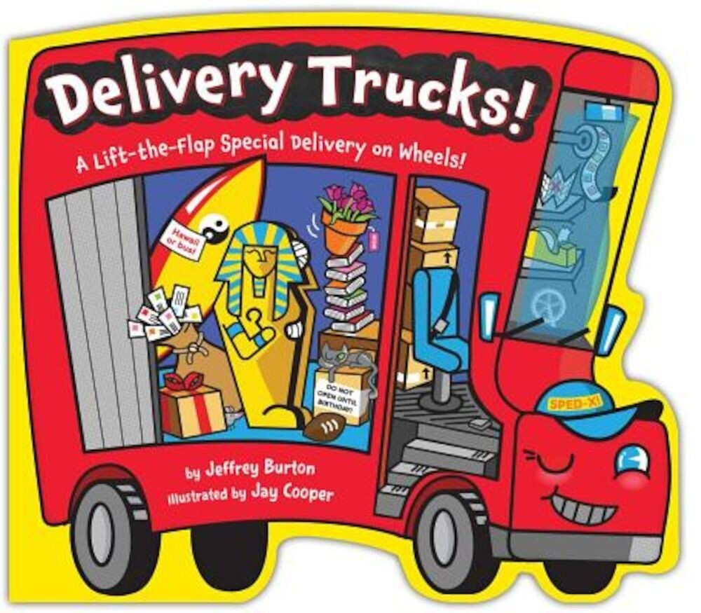 Delivery Trucks!, Hardcover